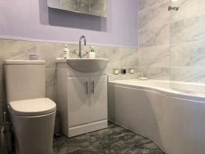 New bathroom fitted in Leeds by Norton Plumbing